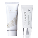 Gold Radiance Exfoliating Gel + Sheer Hydra UV Protection (worth RP$187)